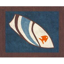 Surf Blue Collection Floor Rug
