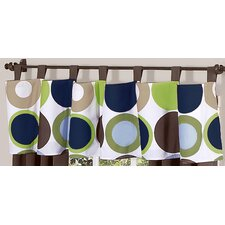 Designer Dot Curtain Valance