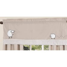 <strong>Sweet Jojo Designs</strong> Lamb Cotton Curtain Valance