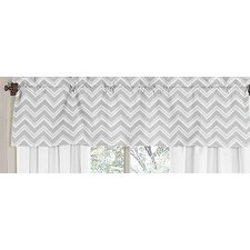 <strong>Sweet Jojo Designs</strong> Zig Zag Cotton Curtain Valance