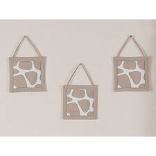 Giraffe Collection Wall Hangings (Set of 3)