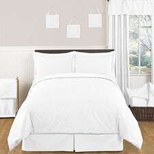 <strong>Sweet Jojo Designs</strong> White Diamond Bedding Collection
