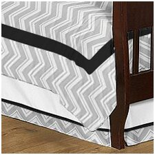 <strong>Sweet Jojo Designs</strong> Zig Zag Todder Bed Skirt
