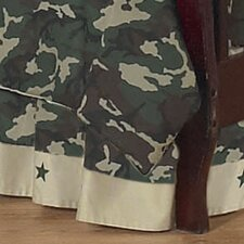 <strong>Sweet Jojo Designs</strong> Camo Green Toddler Bed Skirt