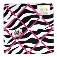 Zebra Pink Collection Memo Board