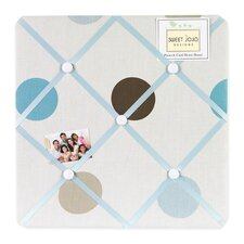 Mod Dots Blue Collection Memo Board