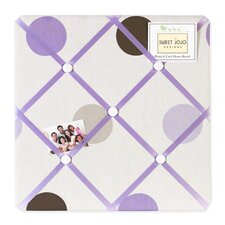 <strong>Sweet Jojo Designs</strong> Mod Dots Purple Collection Memo Board