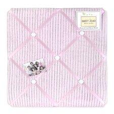 Chenille Pink Memo Board