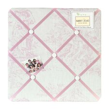 French Toile Memo Board
