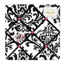 <strong>Sweet Jojo Designs</strong> Isabella Hot Pink, Black and White Collection Memo Board