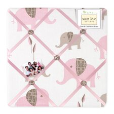 <strong>Sweet Jojo Designs</strong> Elephant Pink Collection Memo Board