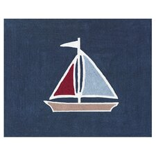 Nautical Nights Collection Floor Rug