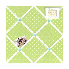 Hooty Turquoise and Lime Memo Board