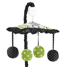 Spirodot Lime and Black Collection Musical Mobile