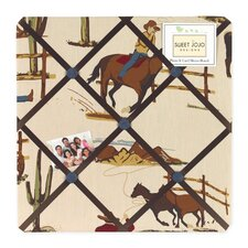 Wild West Cowboy Collection Memo Board