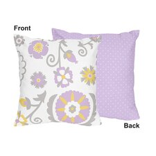 <strong>Sweet Jojo Designs</strong> Suzanna Cotton Decorative Pillow
