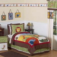 <strong>Sweet Jojo Designs</strong> Jungle Time Collection Twin Bedding Set