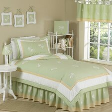 <strong>Sweet Jojo Designs</strong> Green Dragonfly Dreams Kid Twin Bedding Collection (Set of 3)