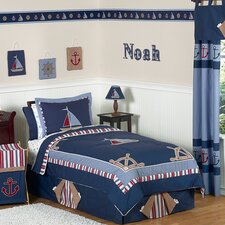 <strong>Sweet Jojo Designs</strong> Nautical Nights Kid Bedding Collection