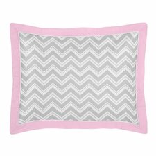 <strong>Sweet Jojo Designs</strong> Zig Zag Standard Pillow Sham