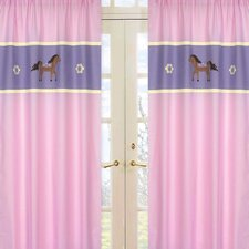 <strong>Sweet Jojo Designs</strong> Pony Curtain Panel (Set of 2)