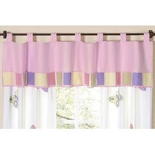 Butterfly Cotton Curtain Valance
