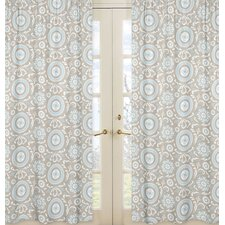 Hayden Print Window Panel (Set of 2)