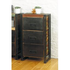 Urban Chic 3 Drawer Chest