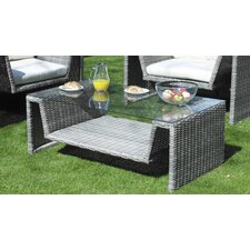 Everlast Rectangular Wicker Coffee Table