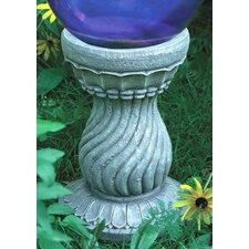 Serpentine Globe Pedestal
