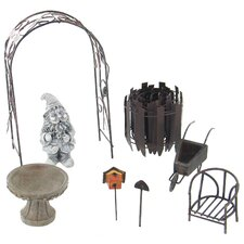 Garden Lawn Gnome Accessory Kit (Set of 4)