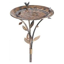"14.5"" Avant Garden Standing or Hanging Bird Bath"