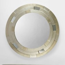 Mirror in Silverleaf with Silver and Champagne