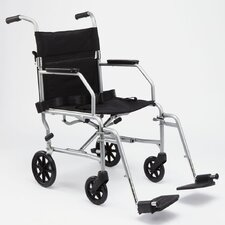 Lightweight Bariatric Transport Wheelchair