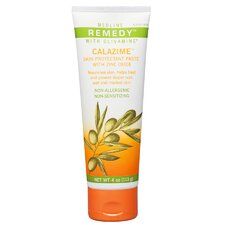 Remedy Olivamine 4 oz. Calazime Skin Barrier and Protectant Cream Lotion