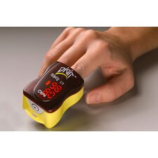 Digit Finger Oximeter in Yellow
