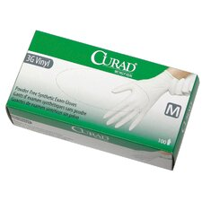<strong>Medline</strong> Curad Powder-Free Stretch Synthetic Vinyl Gloves