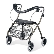<strong>Medline</strong> Envoy 485B Bariatric Rolling Walker in Titanium