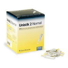 <strong>Medline</strong> Unistik 2 Comfort 28 Gauge Safety Lancet
