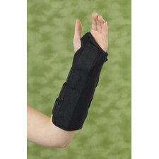 Left Universal Wrist and Forearm Splint