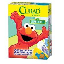 Curad Sesame Street Adhesive Bandages (Pack of 24)