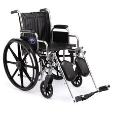 "Excel 2000 18"" Standard Bariatric Wheelchair"