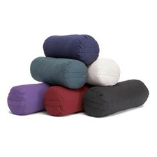 Small Round Cotton Yoga Bolster