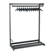 Single-Sided Rack with Two Shelves