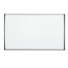Magnetic Dry-Erase Painted Steel Board in White with Aluminum Frame