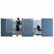 <strong>Quartet®</strong> Workstation Privacy Screen, 36w x 48h