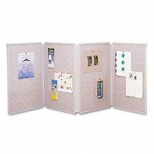 "Tabletop Display Presentation 2' 6"" x 6' Bulletin Board"