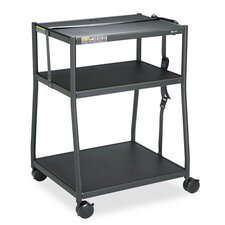 Wide Body AV Cart