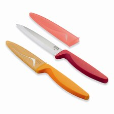 Classic Cutlery 2 Piece Fruit and Vegetable Knife Set