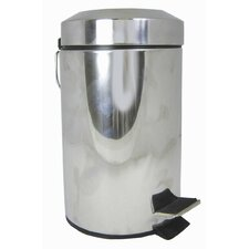 Bathroom Essentials 3-Litre Pedal Bin
